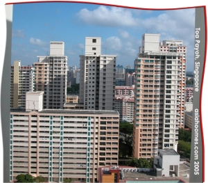 A suburb of Singapore, Toa Payoh in Jan 2005.